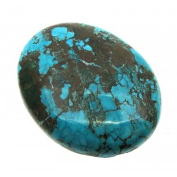 Oval 36x28mm Hubei Turquoise Cabochon 08