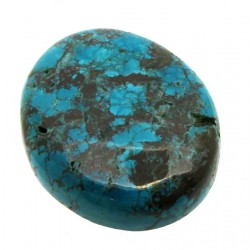 Oval 32x26mm Hubei Turquoise Cabochon 25