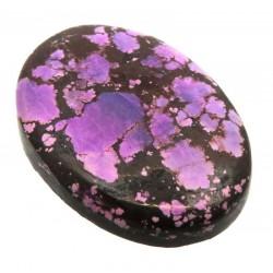 Oval 33x23mm Purple Coloured Magnesite Cabochon 04