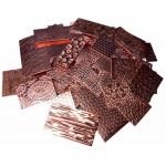 5x Textured Bare Copper Cut Offs Pack